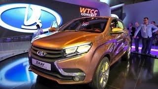 Новая Лада Х Рэй Кросс 2015 New Lada XRay Cross 2015 Russia Car
