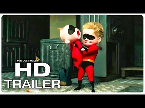 INCREDIBLES 2 Final Trailer (NEW 2018) Superhero Movie HD