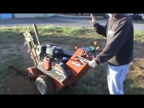 Ditch Witch Mt12 Micro Trencher Doovi
