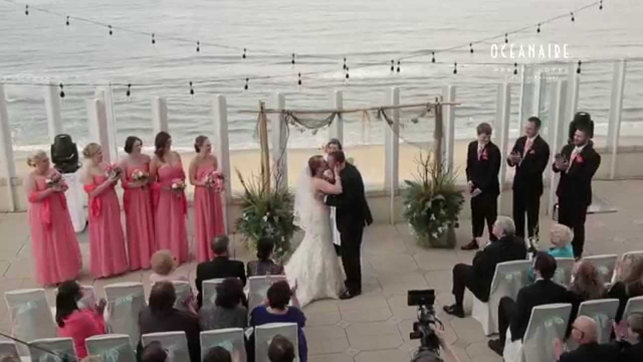 Weddings at Oceanaire Resort Hotel in Virginia Beach - YouTube