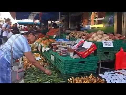Le marché de Lausanne en Suisse