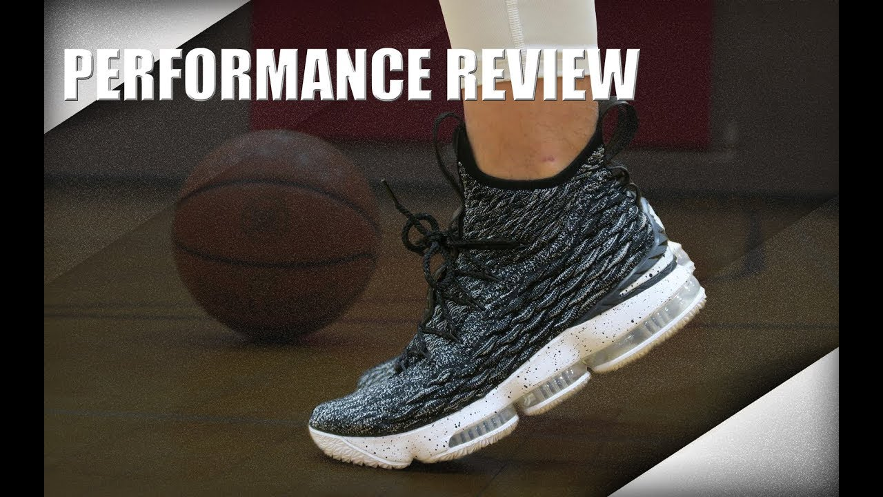 c64715b50df65 Nike LeBron 15 Performance Review - YouTube