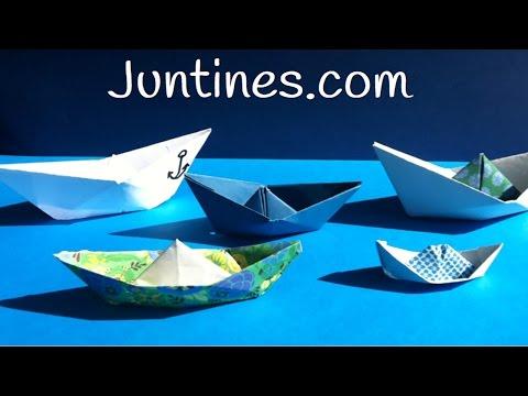 Recuerda cómo hacer un barco de papel