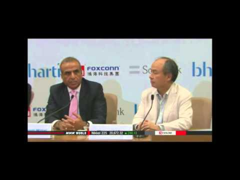 Japan's Softbank ventures in solar projects in India
