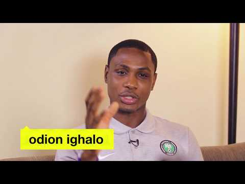 Odion Ighalo of the Super Eagles shares his top 5 Naija work out songs