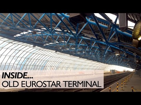 Inside The Old Eurostar Terminal