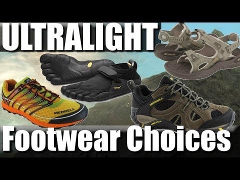 ultralight-backpacking-footwear:-trail-runners,-sandals,-vibram-five-fingers