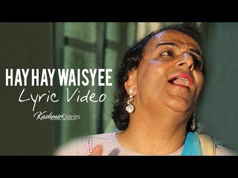 Hay Hay Waisyee - Official Lyric Video | Reshma Rashid | Wedding Sensation | Kashmiri Wedding Song