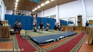 Федоров Олег - 115 рывок (26.12.2014 Кокчетав)