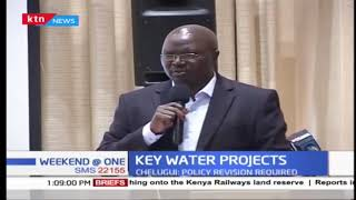 Ministry of Water and Sanitation has admitted that counties do not have the capacity to absorb key water projects