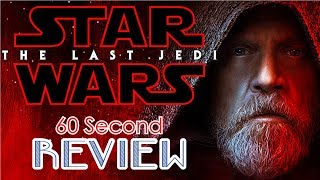 Star Wars: The Last Jedi 60 Second Review (NO Spoilers) | CinemaWins