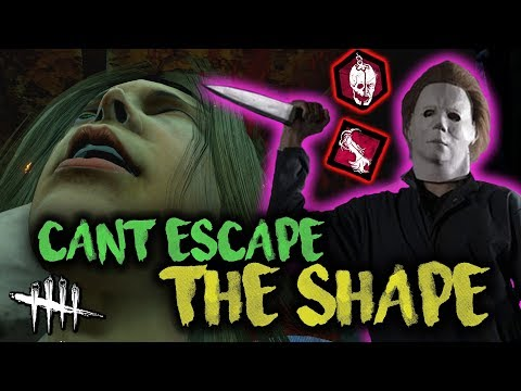 Dead by Daylight - CANT ESCAPE THE SHAPE with HybridPanda [Michael Myers]