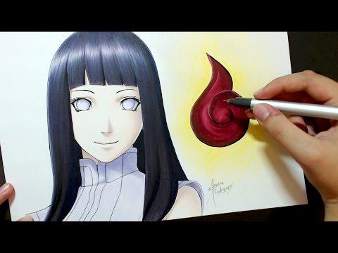 Speed Drawing - Hyuga Hinata [The Last: Naruto The Movie]