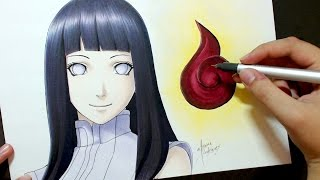 Speed Drawing - Hyuga Hinata [The Last: Naruto The Movie]