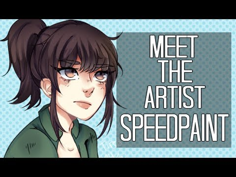 Meet The Artist ♥「Speedpaint」