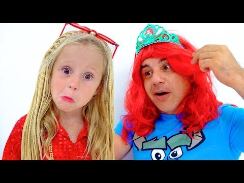 Nastya and dad - favorite stories for kids