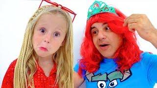 Download Настя и папа - любимые истории для детей Mp3 and Videos