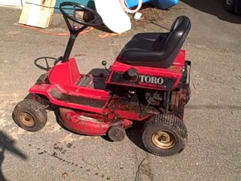 The New Toro Wheelhorse 8 25 Youtube