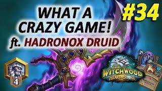 Kingsbane Rogue vs Hadronox Druid #34