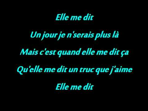 Mika - Elle Me Dit + Paroles/ Lyrics [Premier Single En Français]