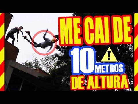 RETO SALE MAL!! ME CAI DE 10 METROS DE ALTURA!!! / JAKEMATTTE