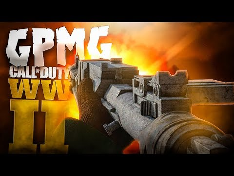 A TOPE CON LA NUEVA GPMG EN CALL OF DUTY: WW2