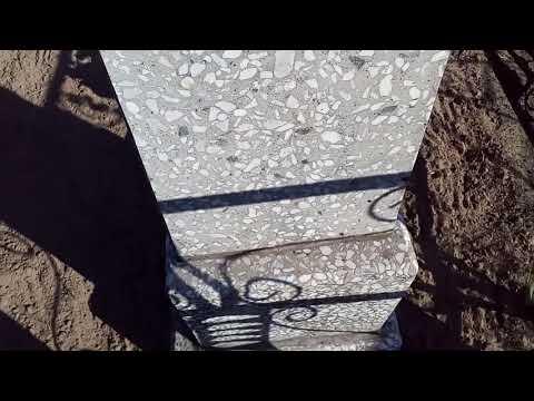 Как отремонтировать памятник из мраморной крошки видео
