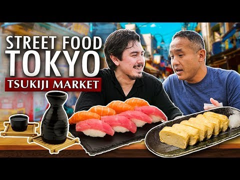 6 Must Try Japanese Dishes In Tokyo | Tsukiji Street Food
