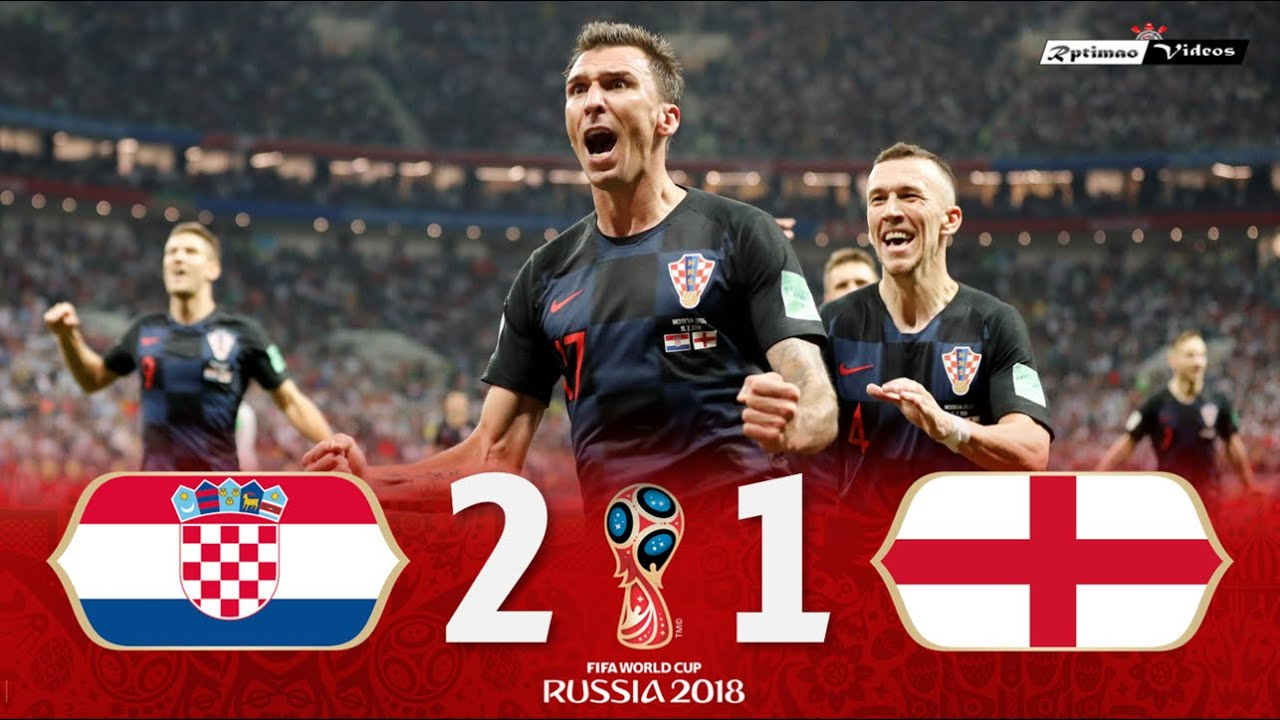 Download Croatia 2 x 1 England ● 2018 World Cup Semifinal Extended Goals & Highlights HD