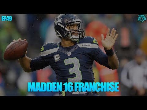 Madden 16: Seattle Seahawks Franchise - S3W9 - Perfect Passer Rating - (Madden 16 Gameplay)