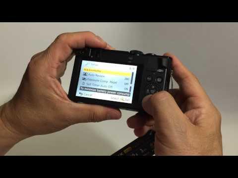 Panasonic Lumix DMC-ZS50 - Unboxing, features and initial setup