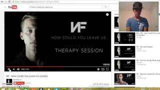 reaction video Nf how could you leave