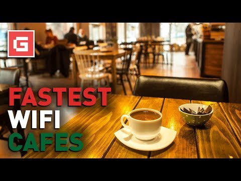 Which Coffee Shop Has The Fastest Wifi?