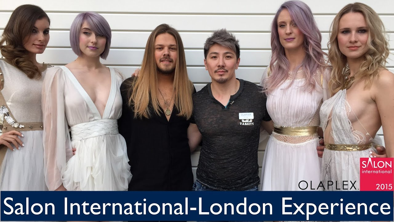 Salon international london experience youtube for Salon international