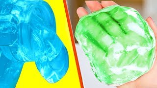 2 Ingredient Slime Recipes Tested