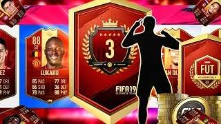 NUMBER 3 IN THE WORLD PLAYER PICK PACK! I88 ICON PACKED!