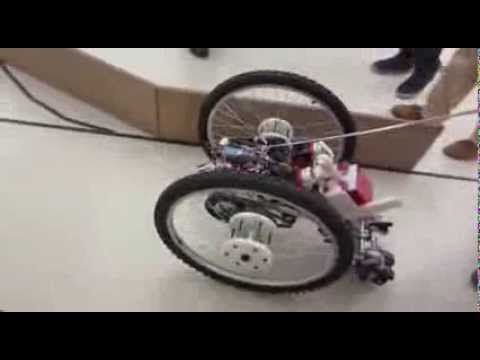 Princeton Robot Race - Final project from MAE 322 (Mechanical Design), Spring 2013