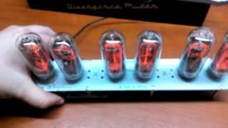 Not light IN-18 tube on Nixie Clock. Problem solving.