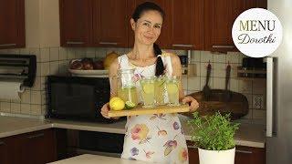 Prawdziwa domowa lemoniada. Jak zrobić szybko orzeźwiającą lemoniadę? MENU Dorotki.