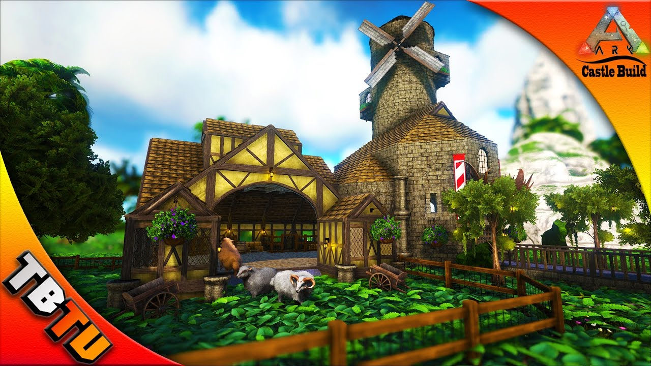 Ovis farm and windmill castle keeps and forts medieval for How to build a castle home