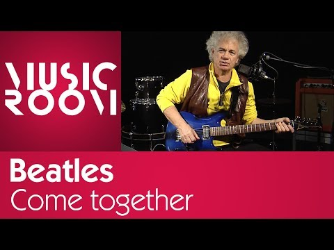 Come Together - Beatles - Tutorial di chitarra - Music Room thumbnail