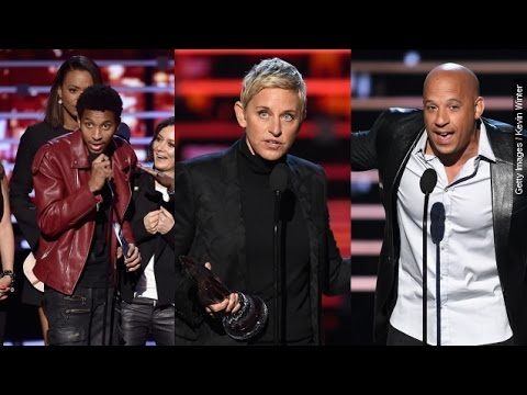 The 4 Best Moments From The 2016 People's Choice Awards - Newsy
