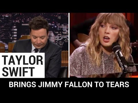 Taylor Swift Brings Jimmy Fallon to Tears...