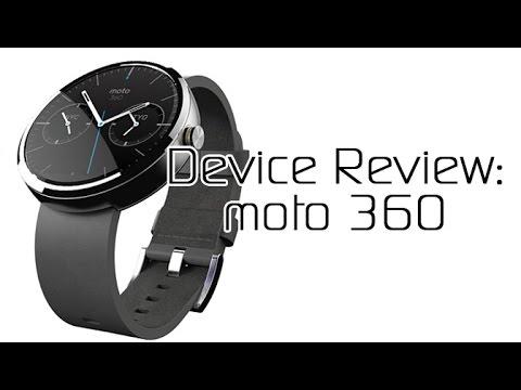 Motorola moto 360 - Device Review