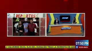 Estamos en vivo Noticiero Impacto VTV  @VTV Somos Todos Honduras