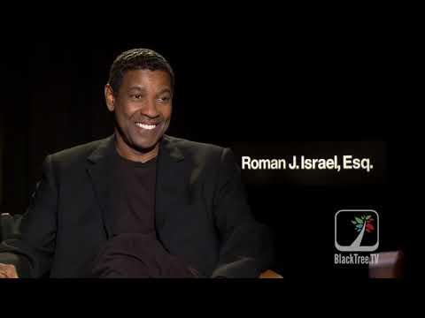 Denzel Washington Interview for Roman J. Israel, Esq.