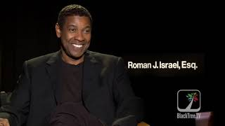 Denzel Washington Interview for Roman J. Israel, Esq.