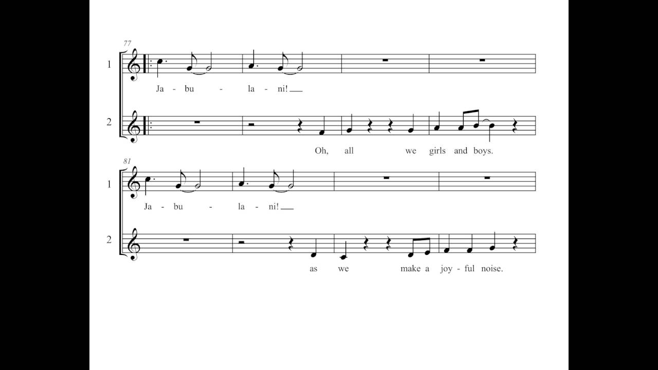 Jabulani - Celebrate Around The World Choral Collection