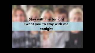 Cover images R5 - Stay With Me - LYRICS