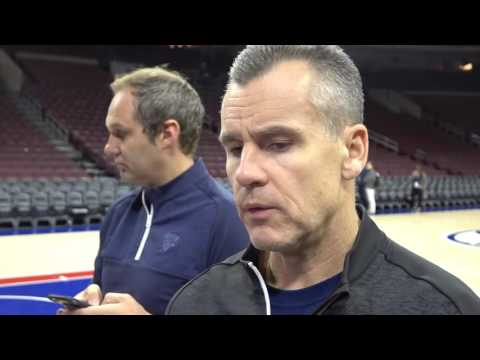 Billy Donovan 10/26/16